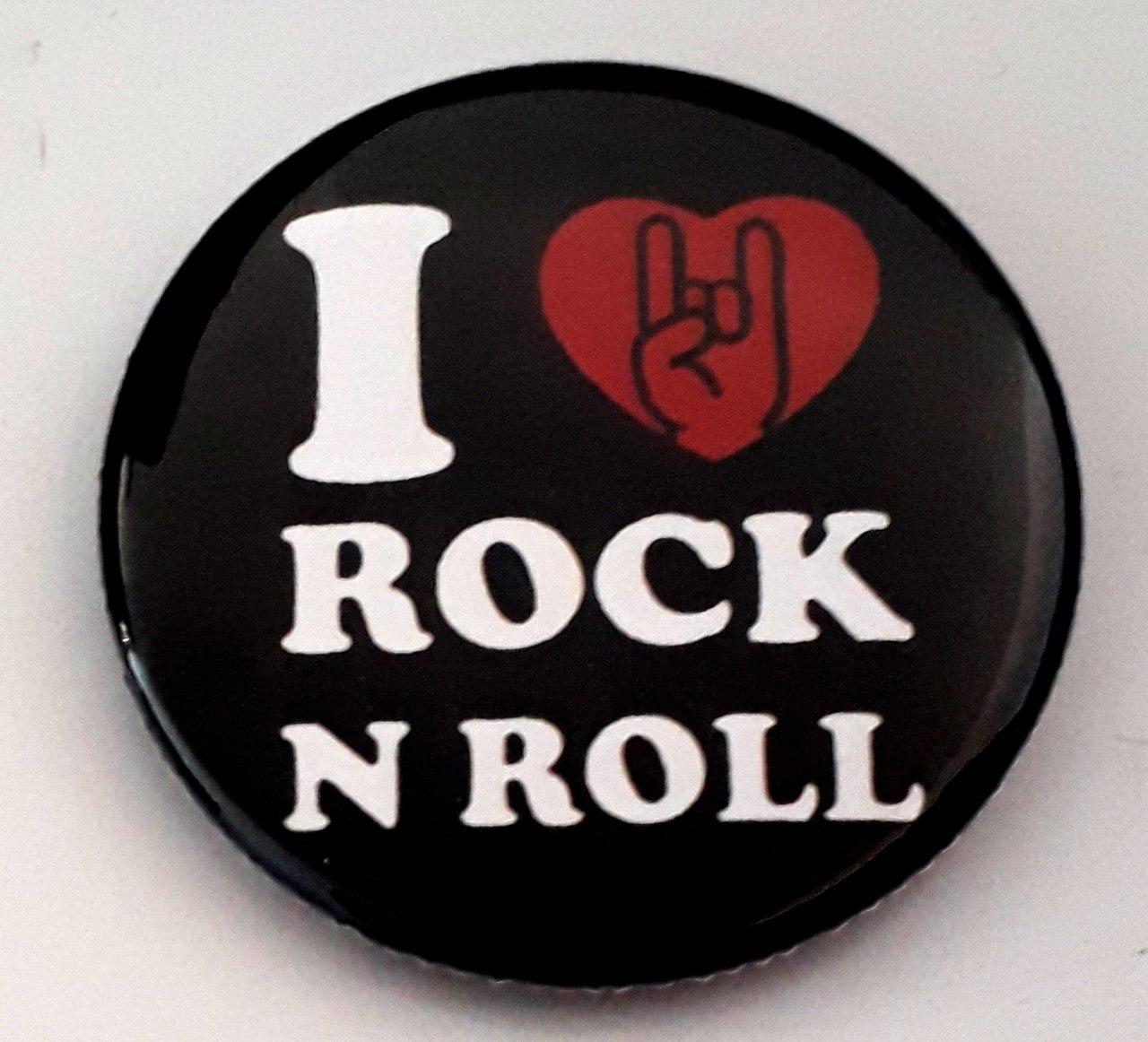 Bottons I Love Rock N Roll