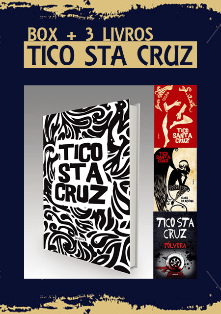 Box Tico Santa Cruz (3 livros) - Editora Belas Letras