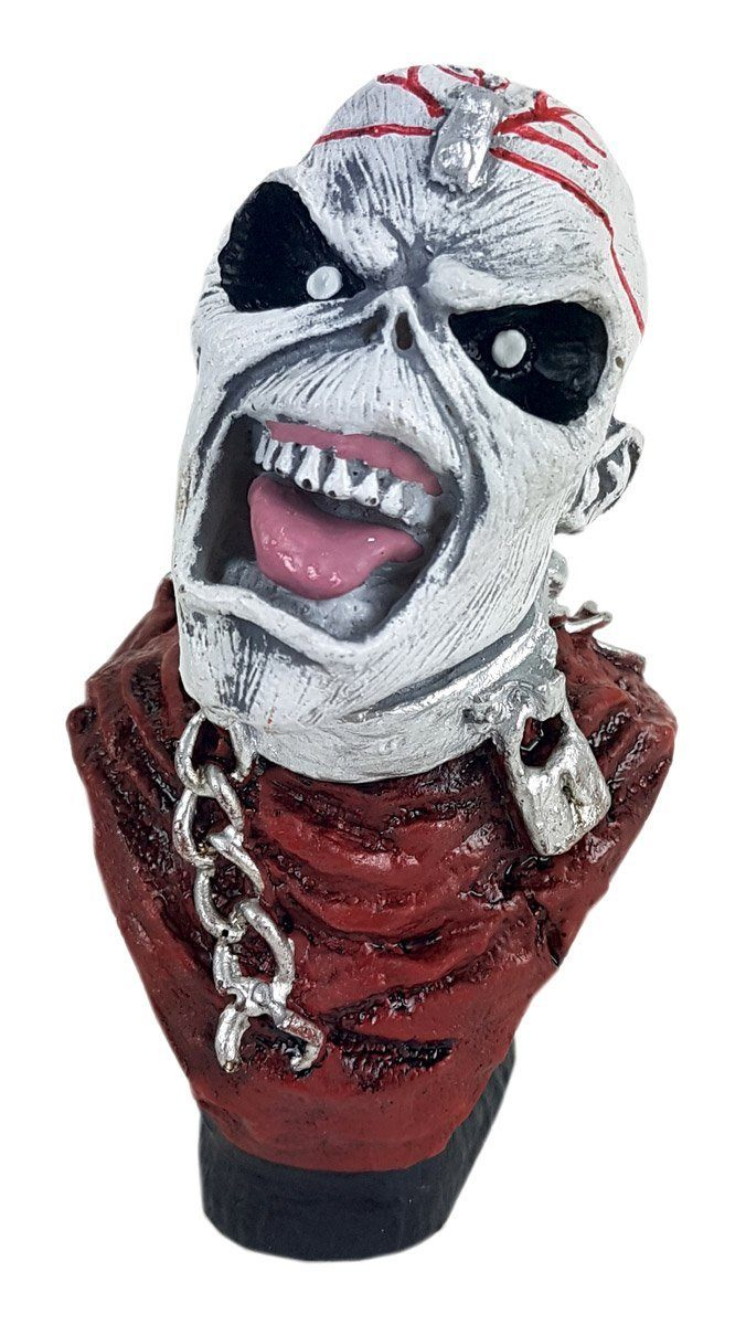 Busto Resina Iron Maiden Eddie The Head Rock And Roll
