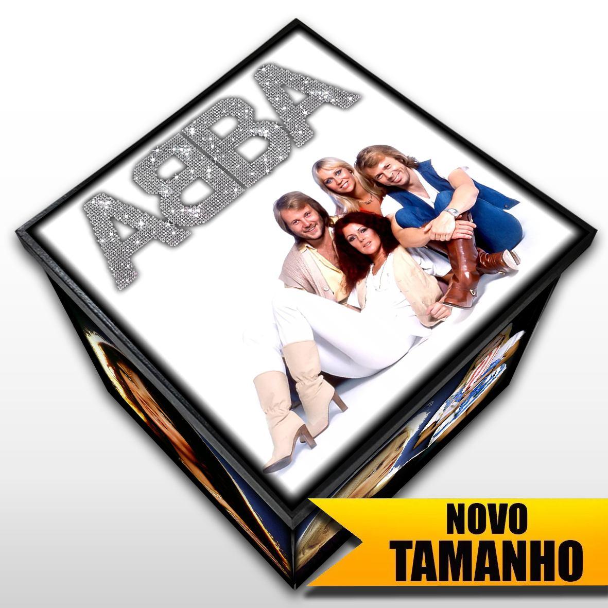 ABBA - Caixa em Madeira MDF - Tamanho Grande - Mr. Rock