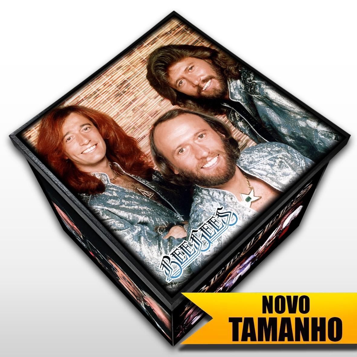 Bee Gees - Caixa em Madeira MDF - Tamanho Grande - Mr. Rock