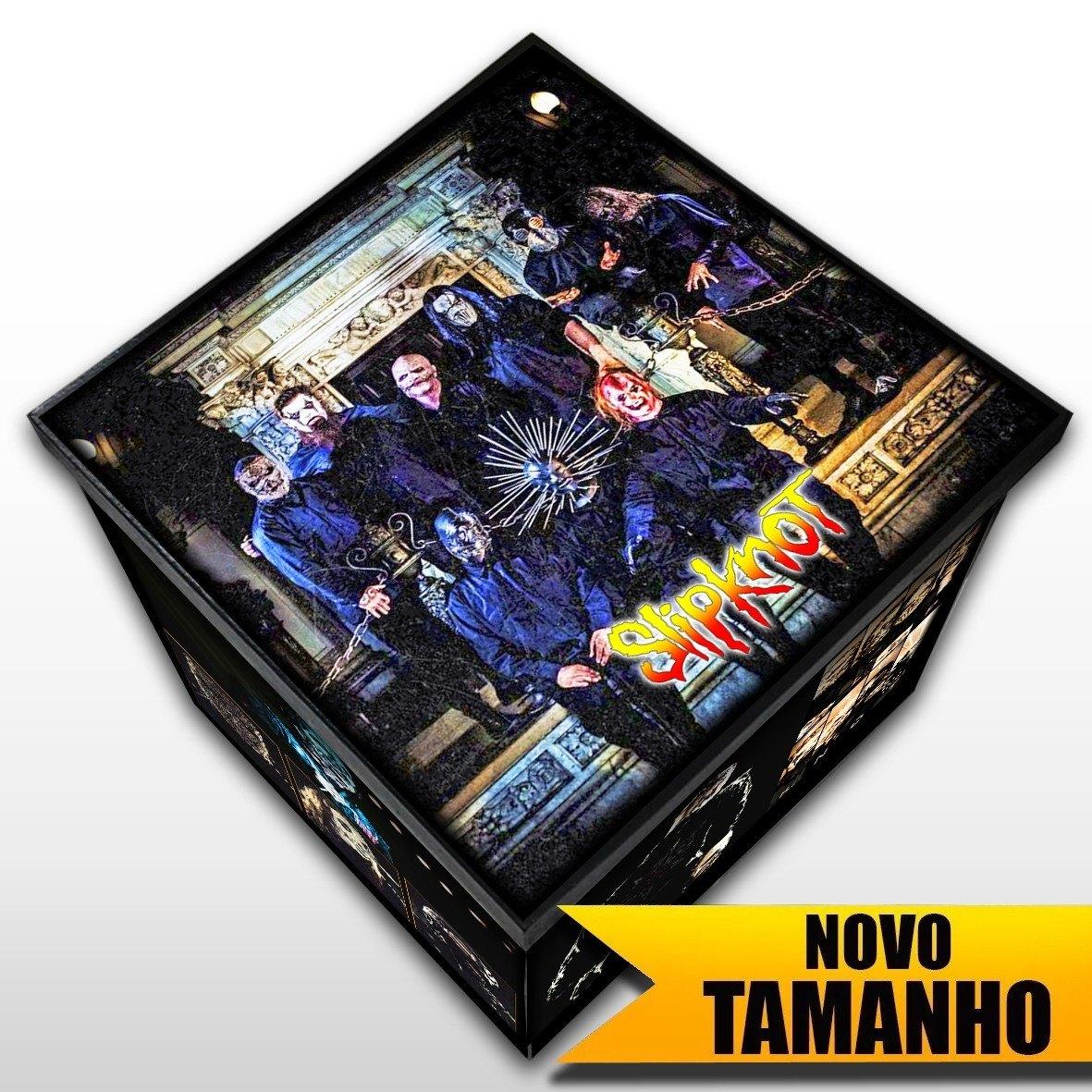 Slipknot - Caixa em Madeira MDF - Tamanho Grande - Mr. Rock