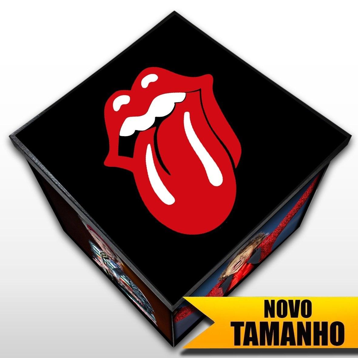 Rolling Stones - Caixa em Madeira MDF - Tamanho Grande - Mr. Rock