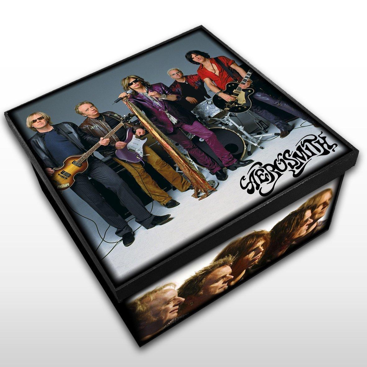 Aerosmith - Caixa em Madeira MDF - Tamanho Médio - Mr. Rock