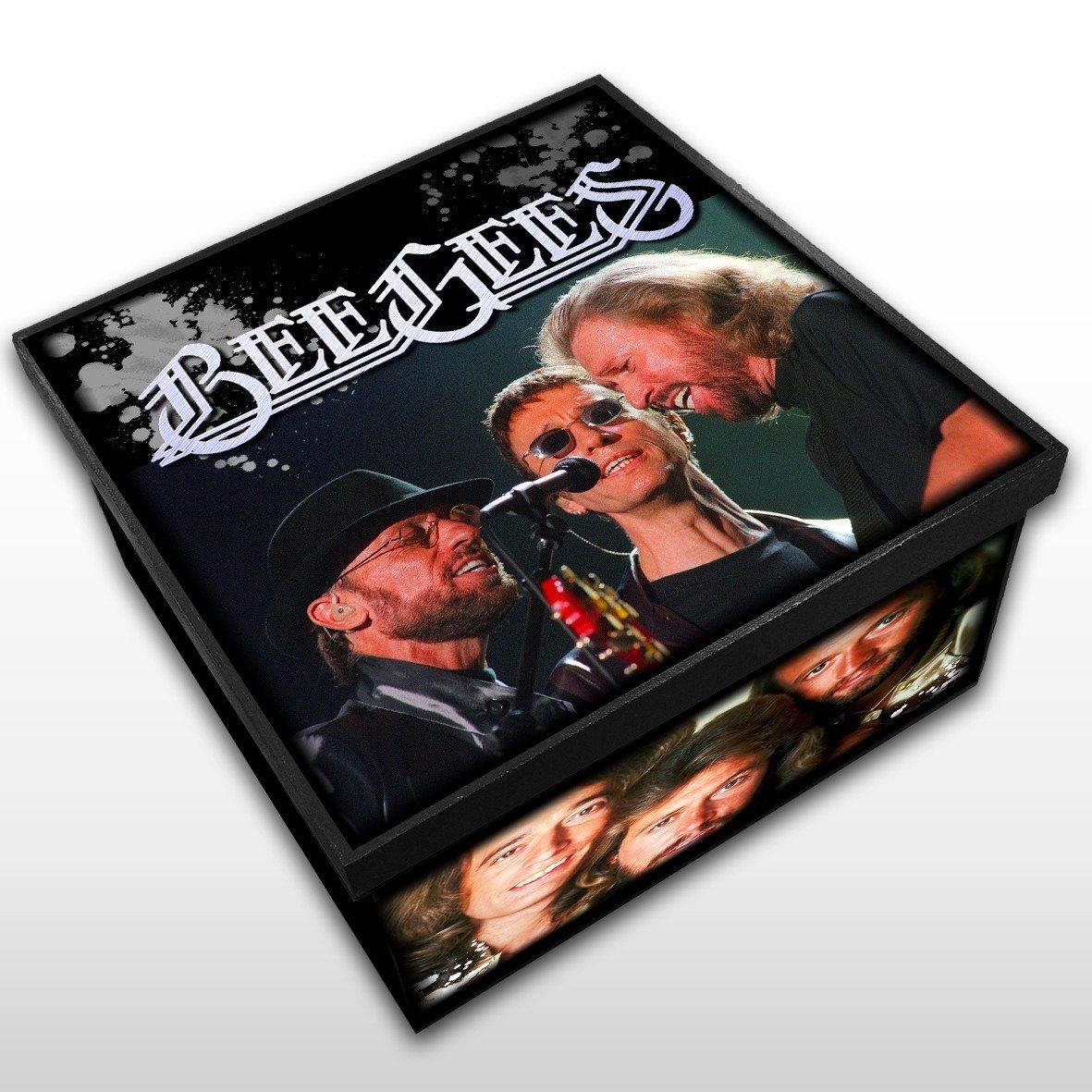 Bee Gees - Caixa em Madeira MDF - Tamanho Médio - Mr. Rock