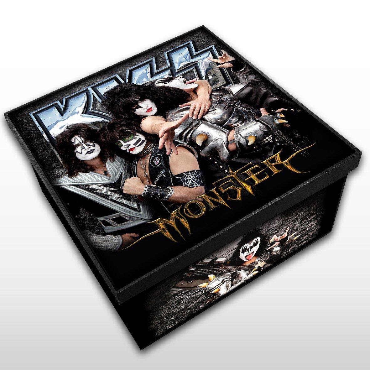 Kiss - Monster - Caixa em Madeira MDF - Tamanho Médio - Mr. Rock