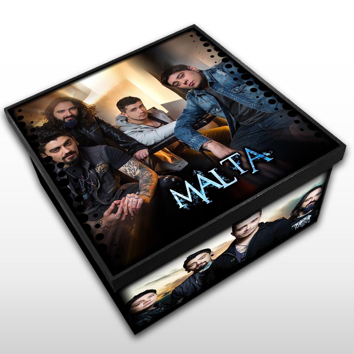 Malta - Caixa em Madeira MDF - Tamanho Médio - Mr. Rock