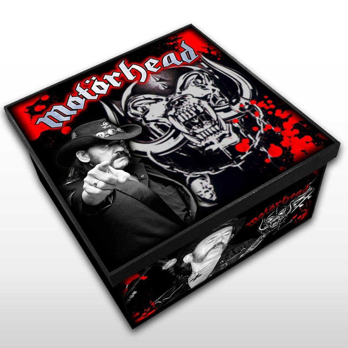Motorhead - Caixa em Madeira MDF - Tamanho Médio - Mr. Rock