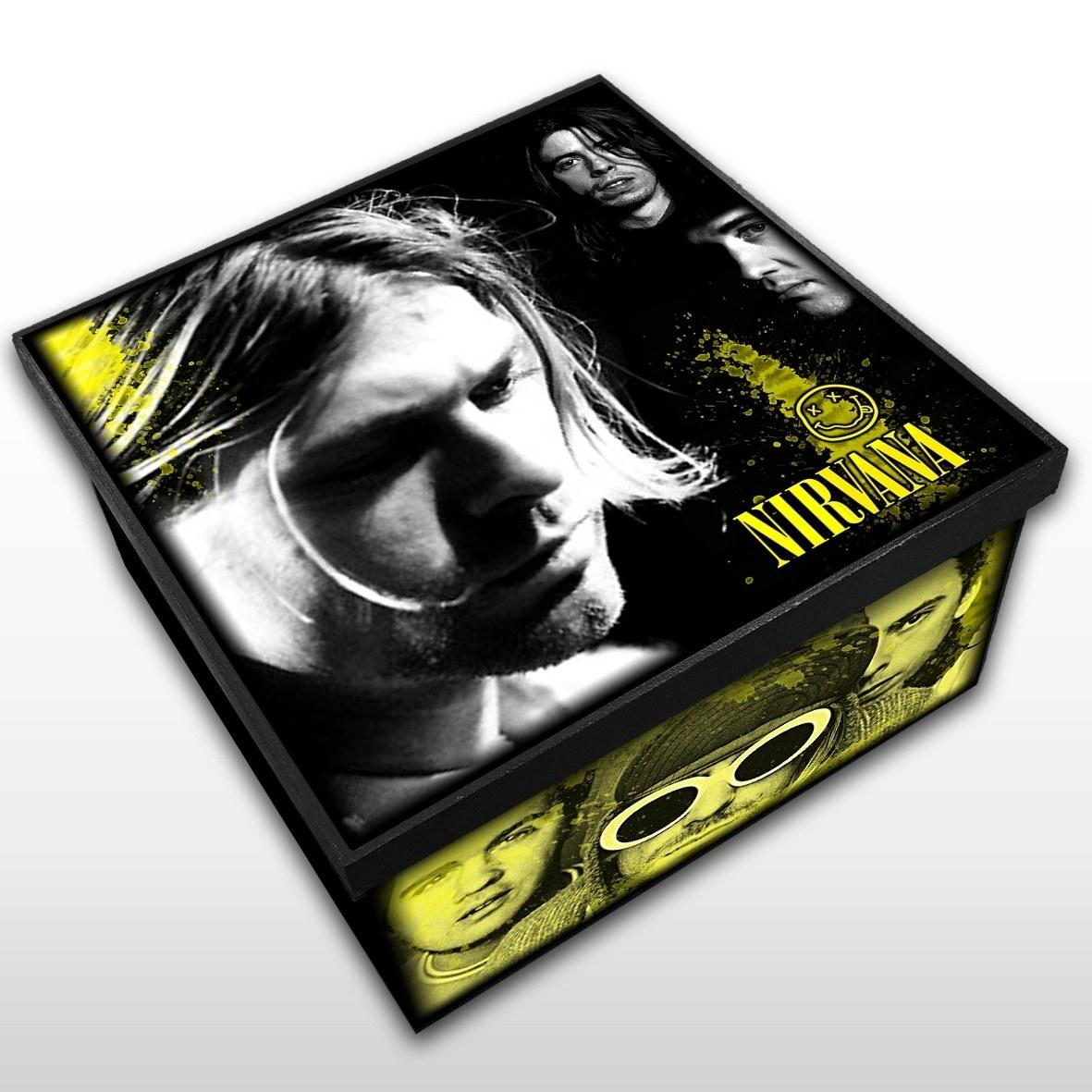 Nirvana - Caixa em Madeira MDF - Tamanho Médio - Mr. Rock
