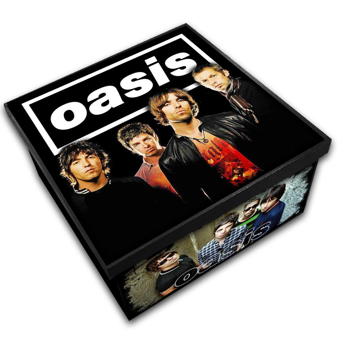 Oasis - Caixa em Madeira MDF - Tamanho Médio - Mr. Rock