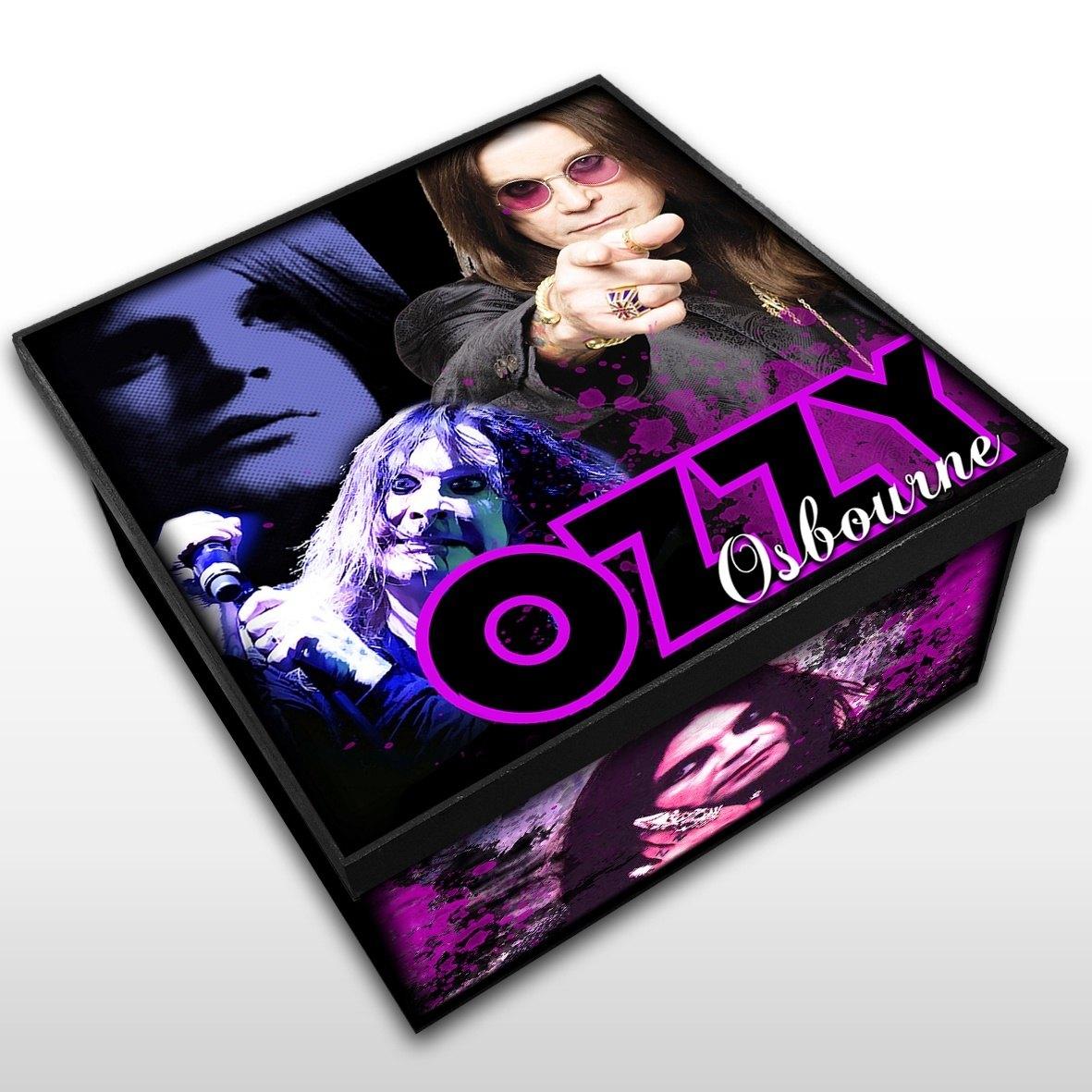 Ozzy Osbourne - Caixa em Madeira MDF - Tamanho Médio - Mr. Rock