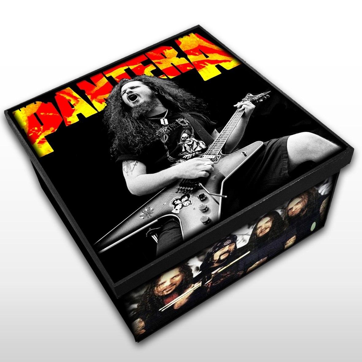 Pantera - Caixa em Madeira MDF - Tamanho Médio - Mr. Rock