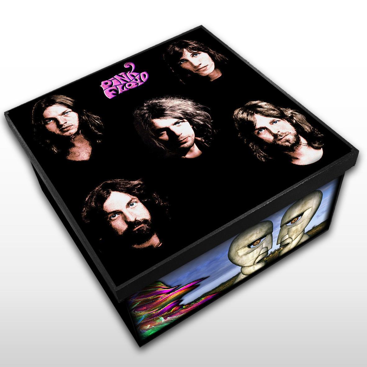 Pink Floyd - Caixa em Madeira MDF - Tamanho Médio - Mr. Rock