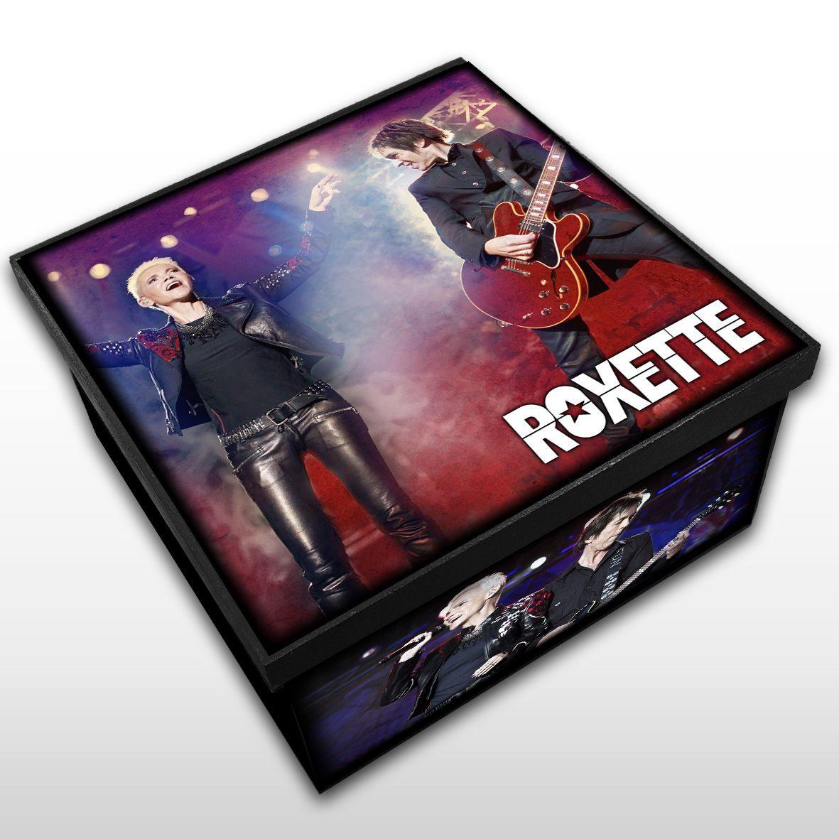 Roxette - Caixa em Madeira MDF - Tamanho Médio - Mr. Rock