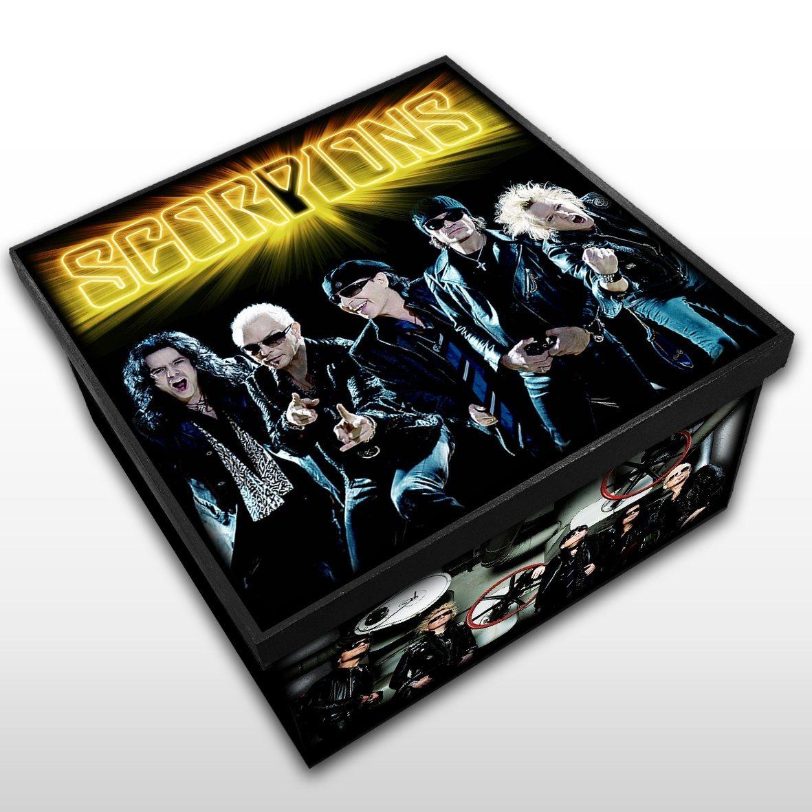 Scorpions - Caixa em Madeira MDF - Tamanho Médio - Mr. Rock