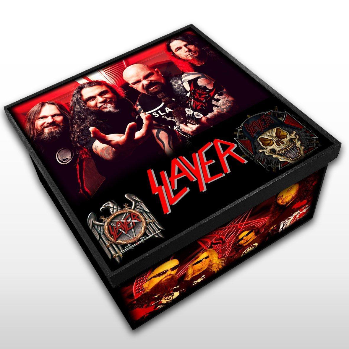 Slayer - Caixa em Madeira MDF - Tamanho Médio - Mr. Rock