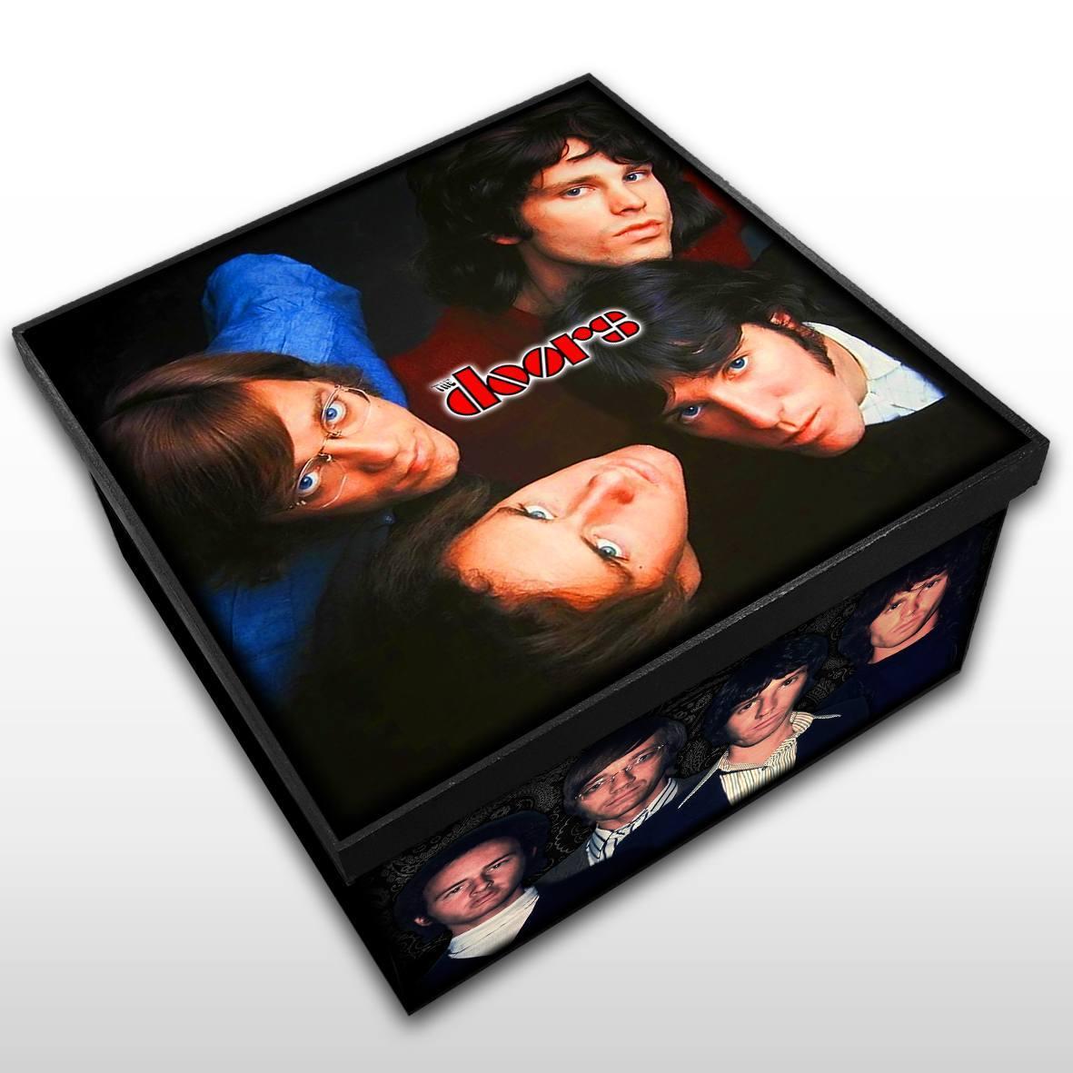 The Doors - Caixa em Madeira MDF - Tamanho Médio - Mr. Rock