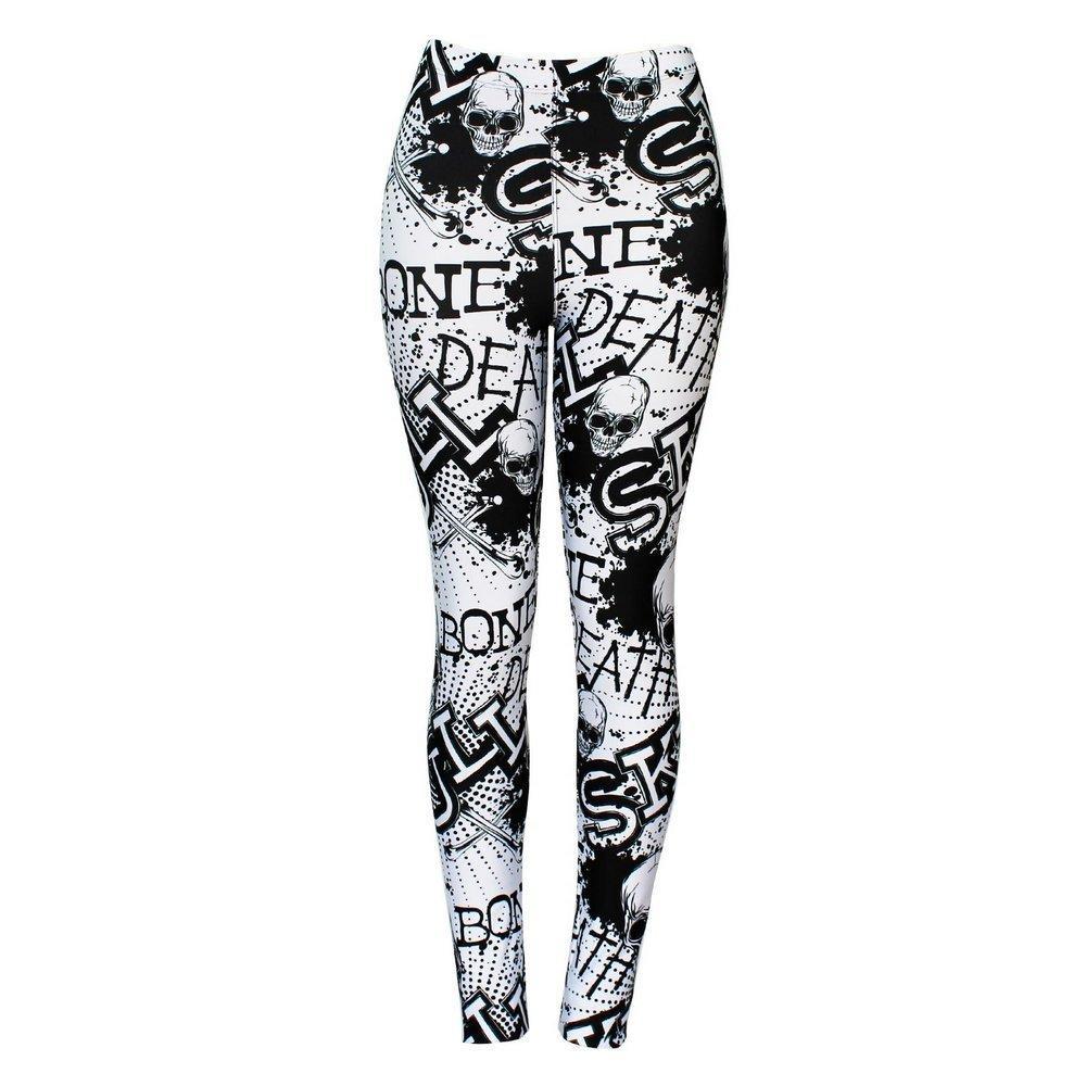 Calça Legging Feminina Death Skull - Bloody Hell Wear