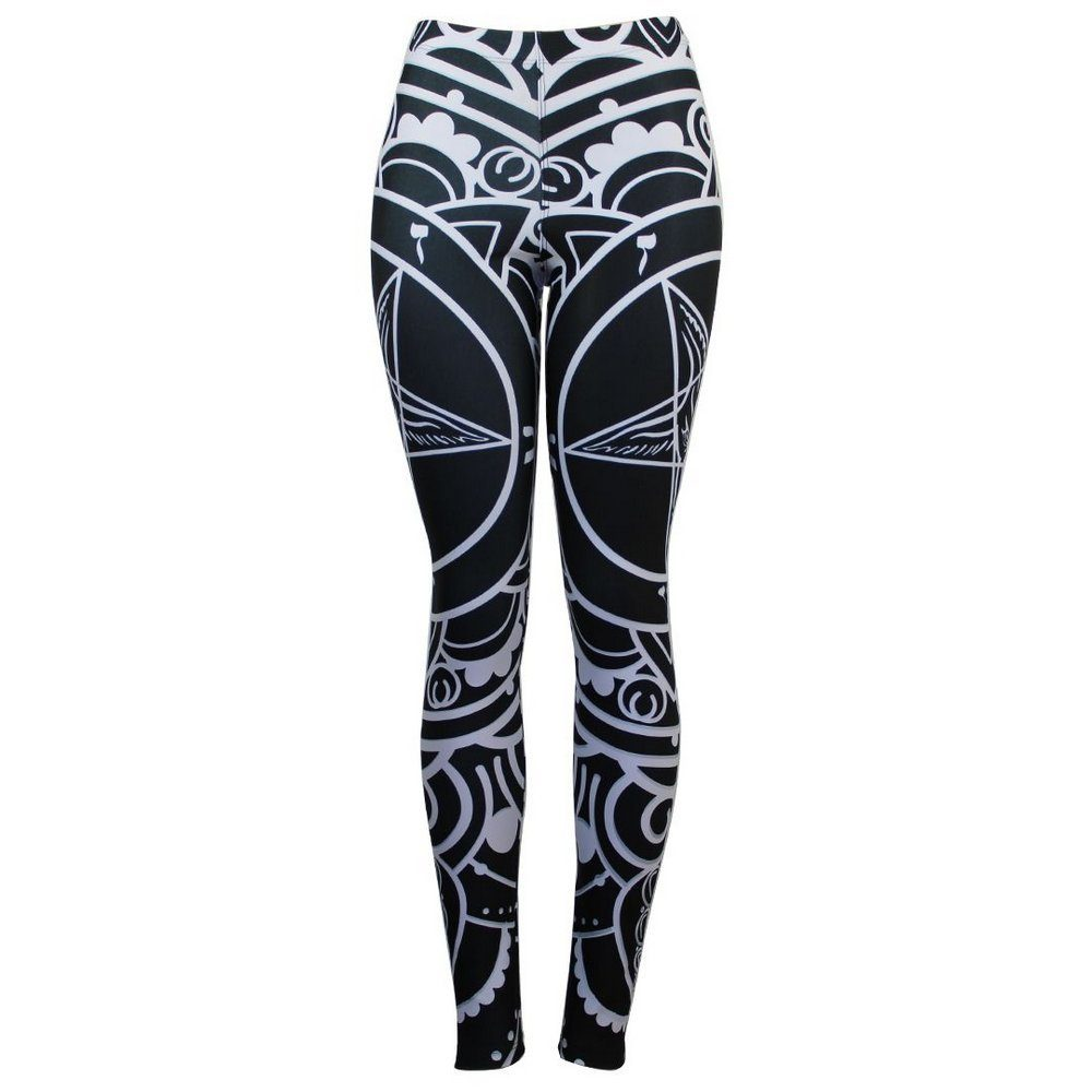 Calça Legging Feminina Pentagrama Ornamental - Bloody Hell Wear