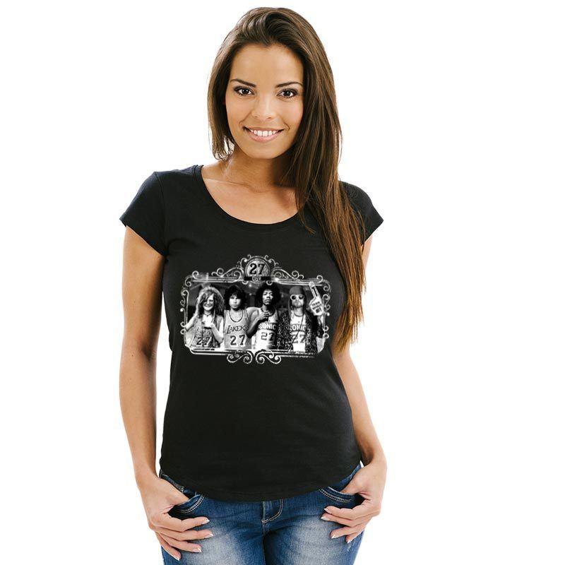 Camiseta feminina 27 Club