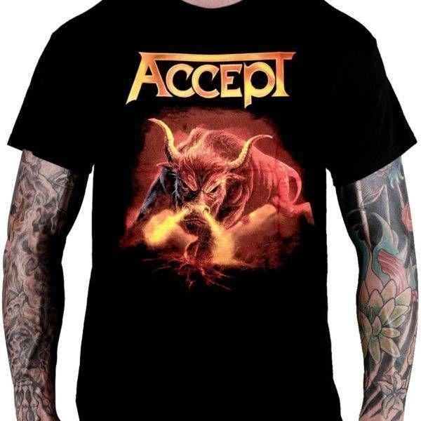 CamisetaAccept Blind Rage - Consulado do Rock