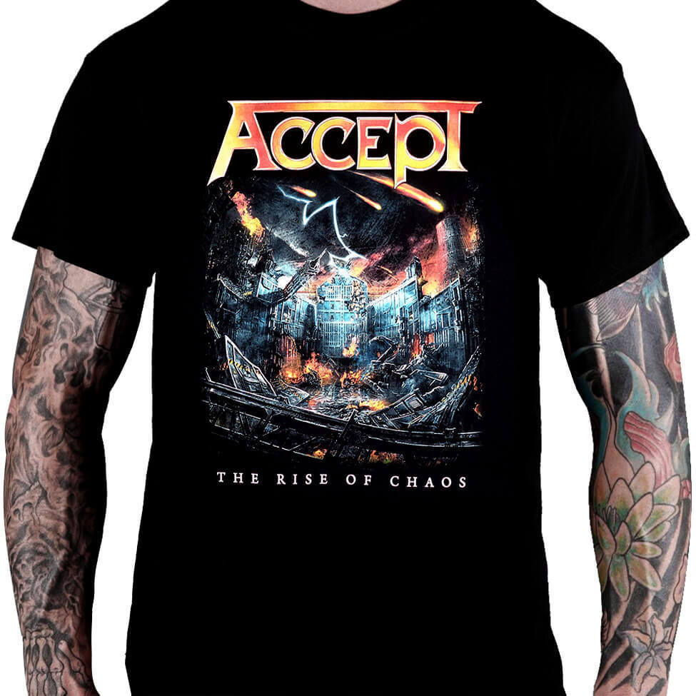 Camiseta Accept - The Rise Oh Chaos