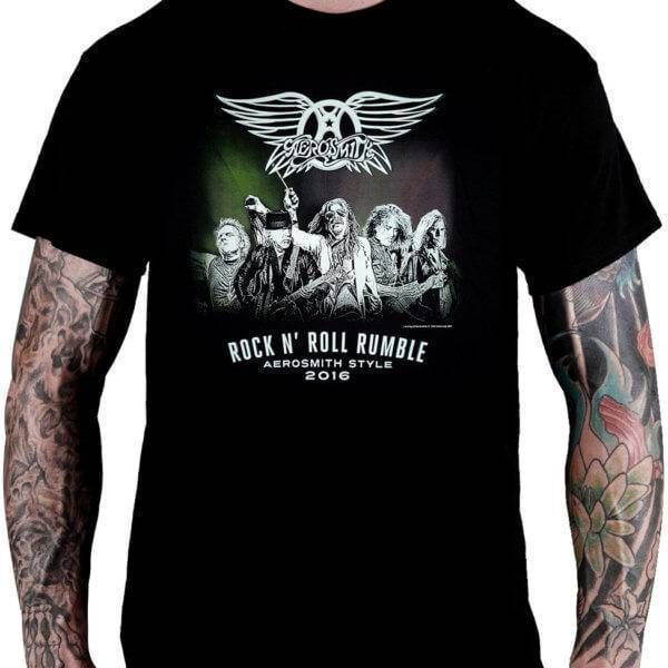 Camiseta Aerosmith Rock 'n' Roll Rumble - Consulado do Rock