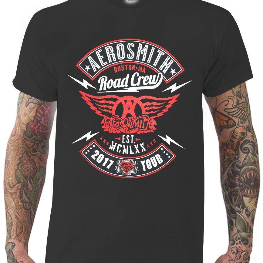 Camiseta Aerosmith - Tour 2017