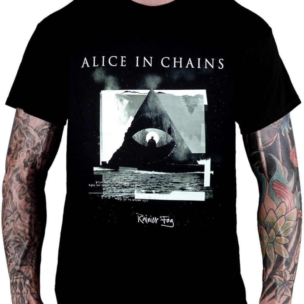 CamisetaAlice in ChainsRainier Fog - Consulado do Rock