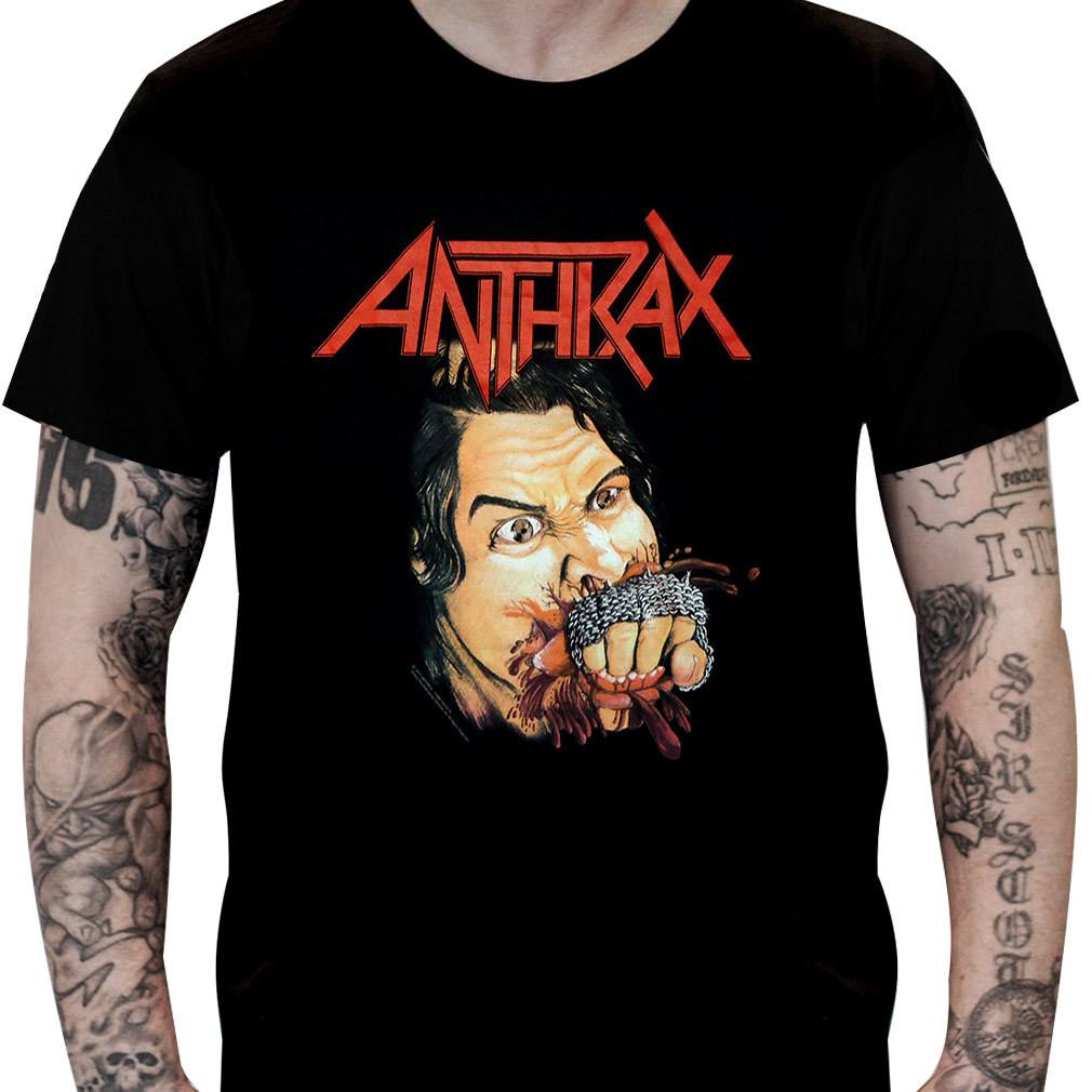 Camiseta ANTHRAX – Fistful of Metal