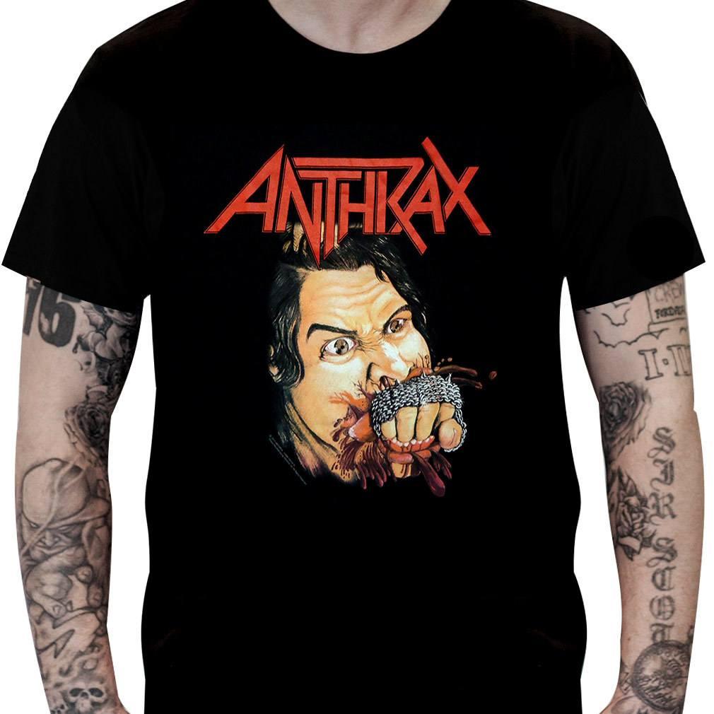 CamisetaANTHRAX –Fistful of Metal