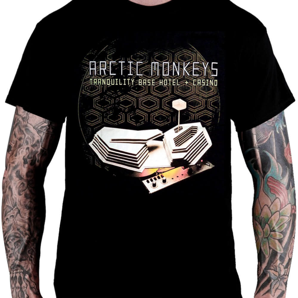 Camiseta ARCTIC MONKEYS – Tranquility Base Hotel + Casino