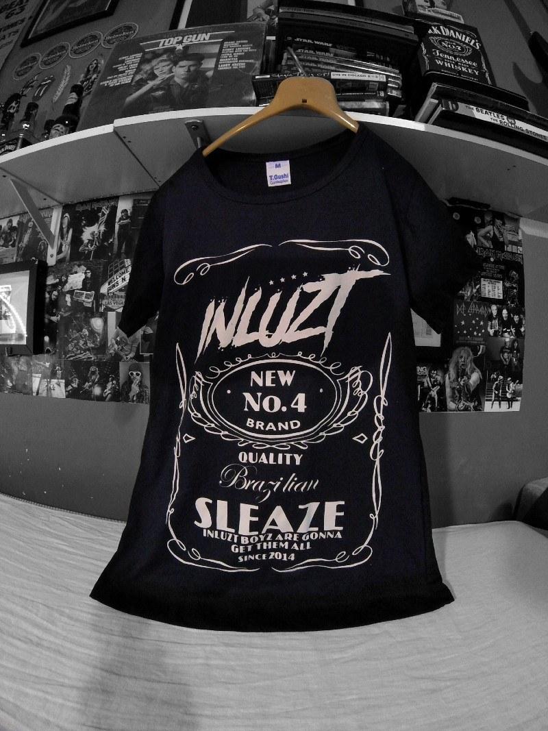 Camiseta Banda Inluzt Modelo Jack Daniels Clássico