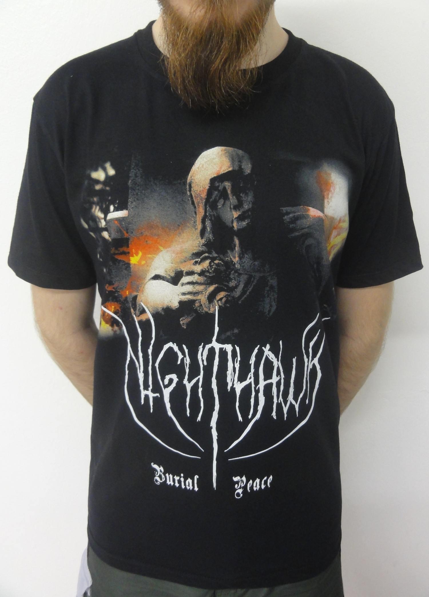 Camiseta Banda Nighthawk - Burial Peace