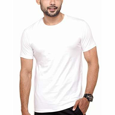 Camiseta básica masculina gola redonda