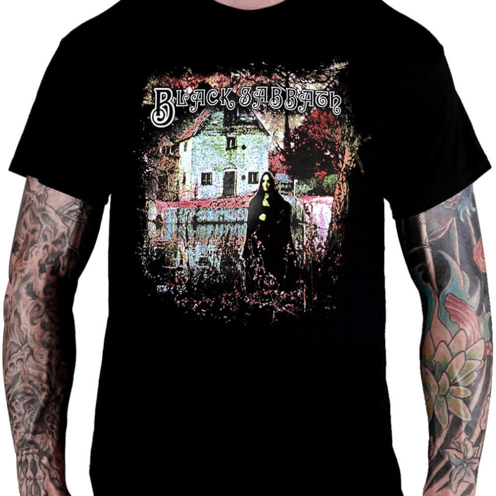 Camiseta Black Sabbath - 1970