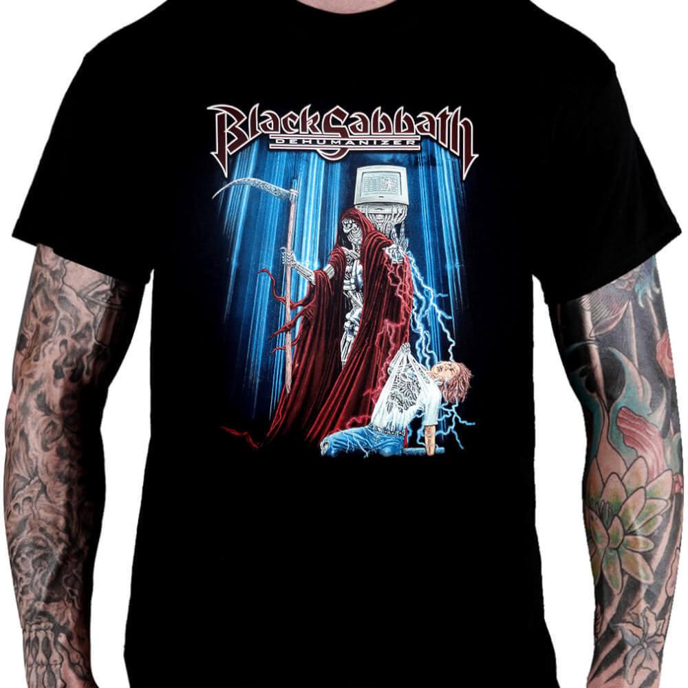 Camiseta Black Sabbath - Dehumanizer