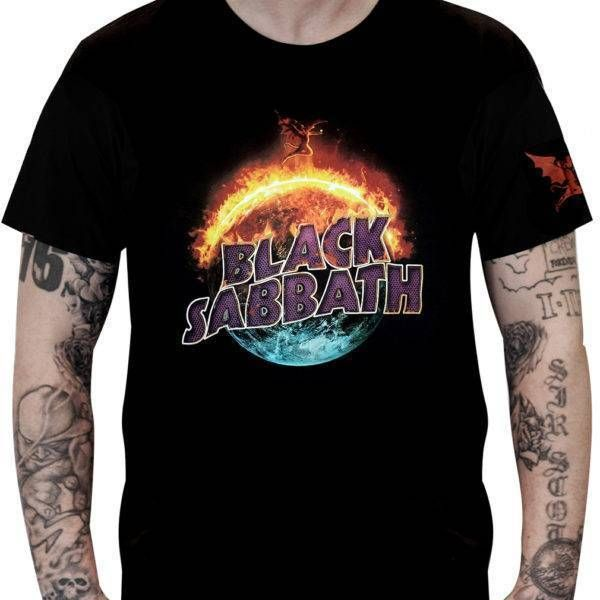 CamisetaBlack Sabbath – The End Tour