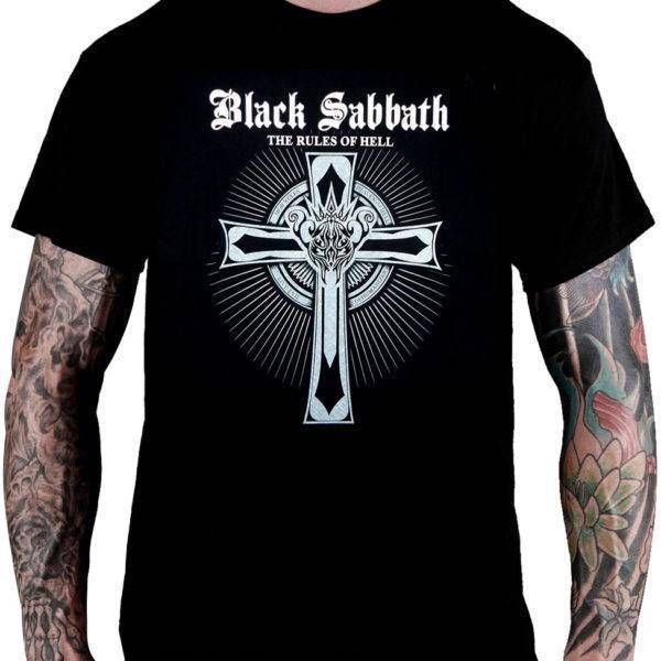 CamisetaBlack Sabbath The Rules of Hell - Consulado do Rock