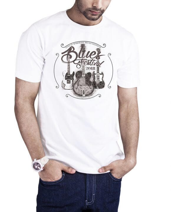 Camiseta Blues Vintage