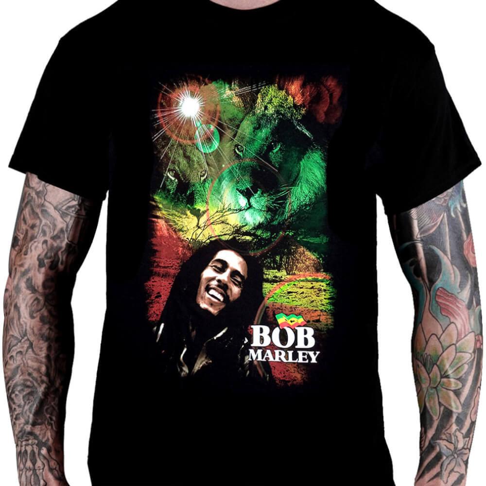 Camiseta BOB MARLEY – Lion