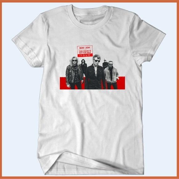 Camiseta Bon Jovi Turnê 2019  - Camisetas Rápido