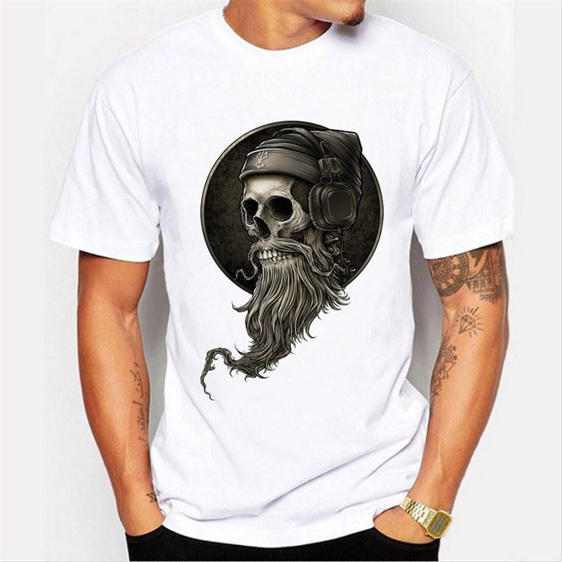 Camiseta Caveira Beard - SkullAchando