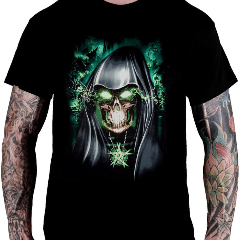 Camiseta Caveira - Consulado do Rock