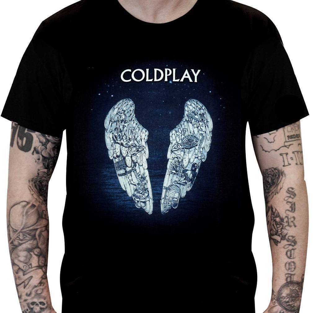 Camiseta Coldplay –Ghost Stories