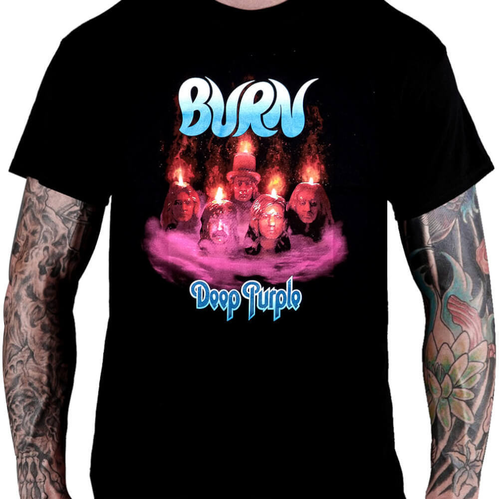 Camiseta Deep Purple Burn - Consulado do Rock
