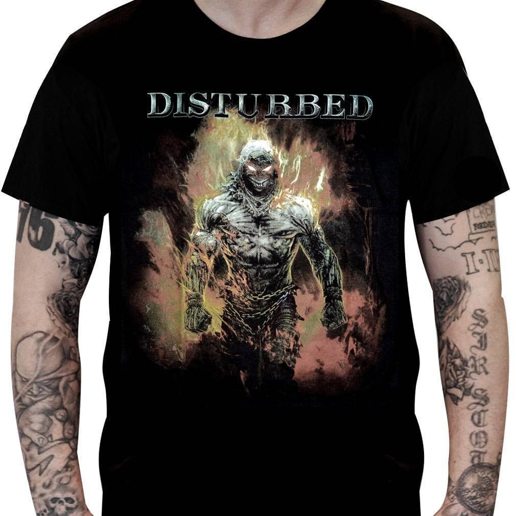 Camiseta Disturbed – Indestructible