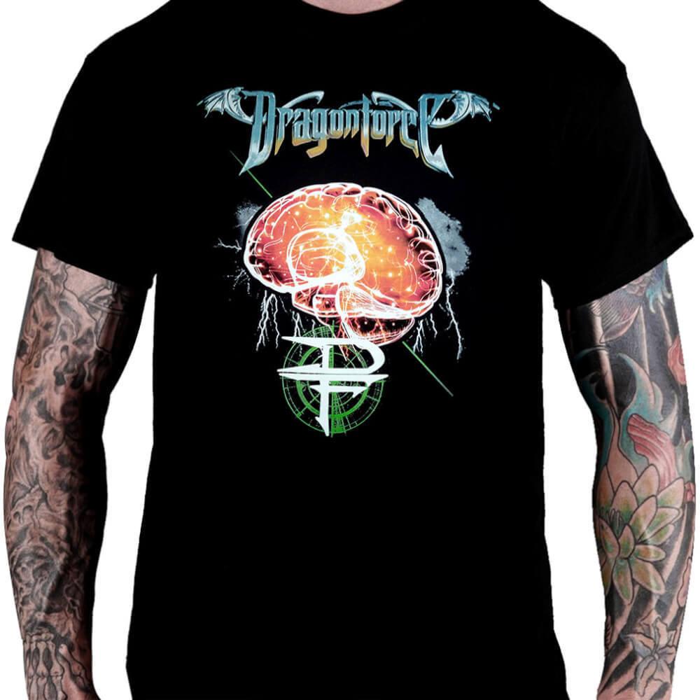 CamisetaDragonForce - Consulado do Rock