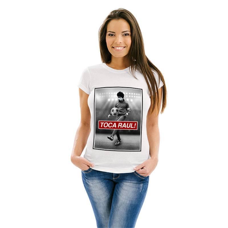 Camiseta feminina Toca Raul