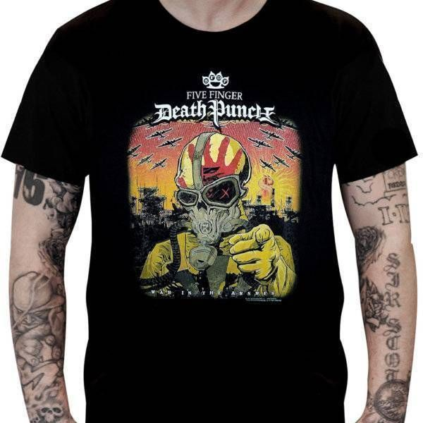 CamisetaFive Finger Death Punch – War is the Answer